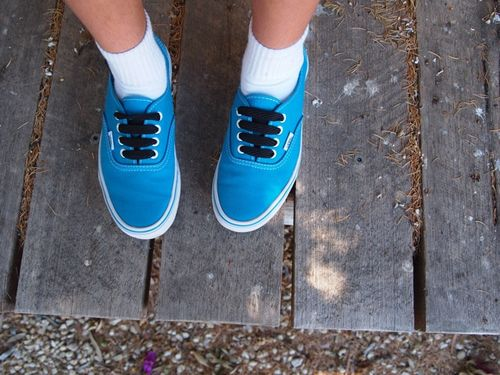 Vans shoes teen aqua